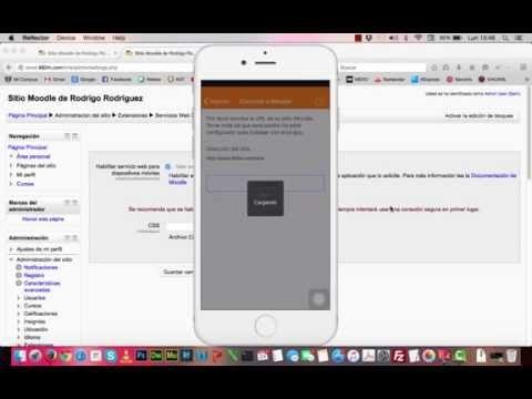 Como habilitar Moodle Mobile 2 para Moodle 2.6.3