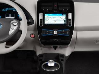 2012 Nissan Leaf 4-door HB SL Instrument Panel