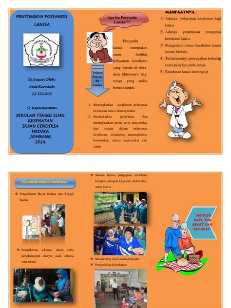 leaflet posyandu lansia