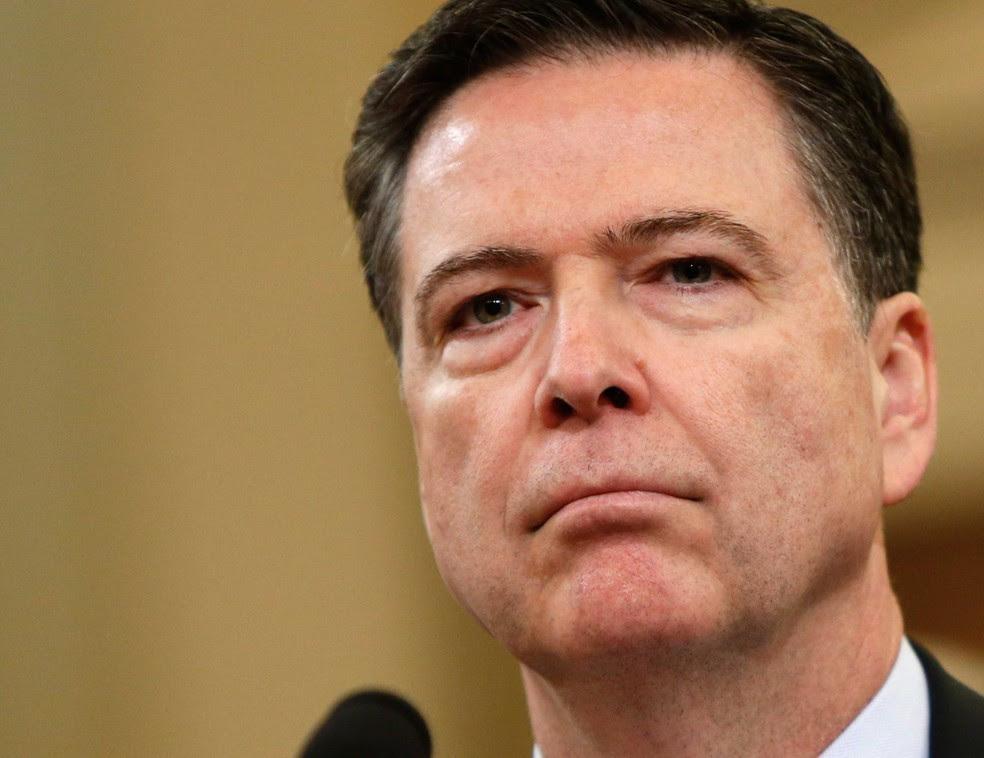 O ex-diretor da Polícia Federal americana (FBI), James Comey (Foto: Joshua Roberts/ Reuters)