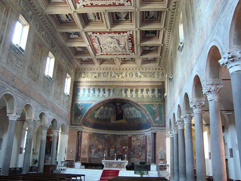 Basilica Santa Maria vue interieure.JPG