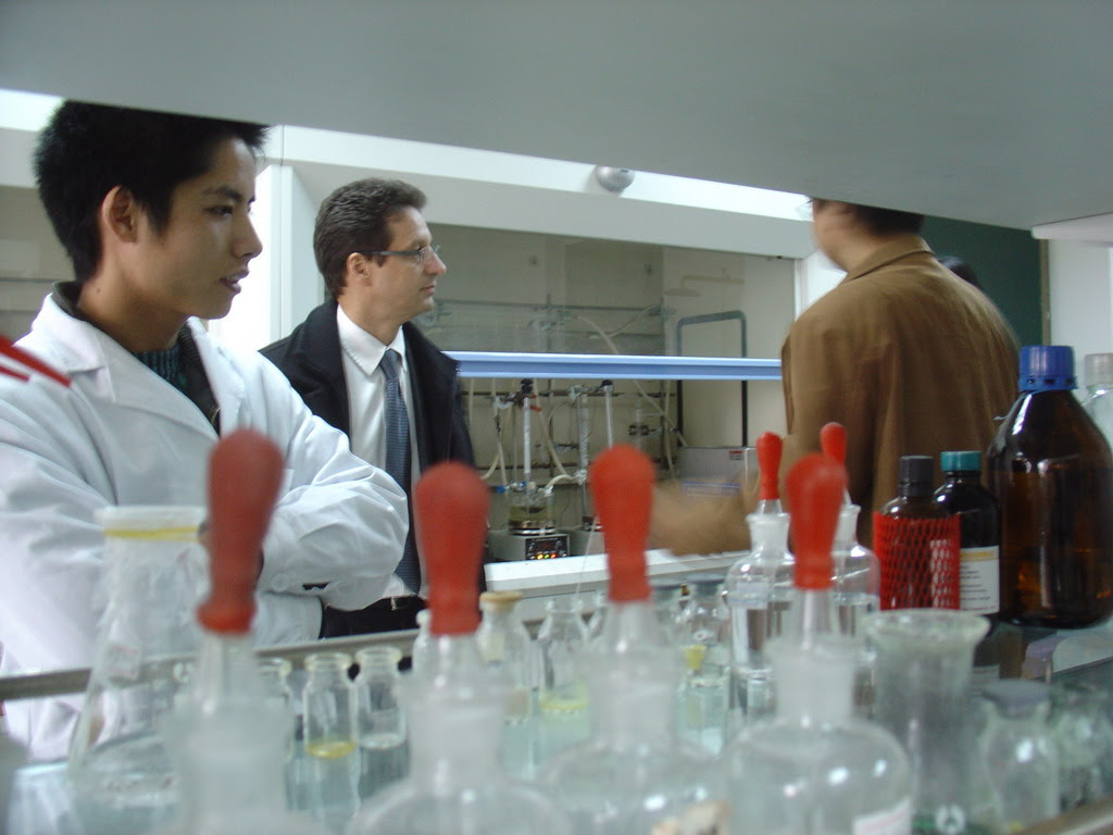 laboratoire Chinois