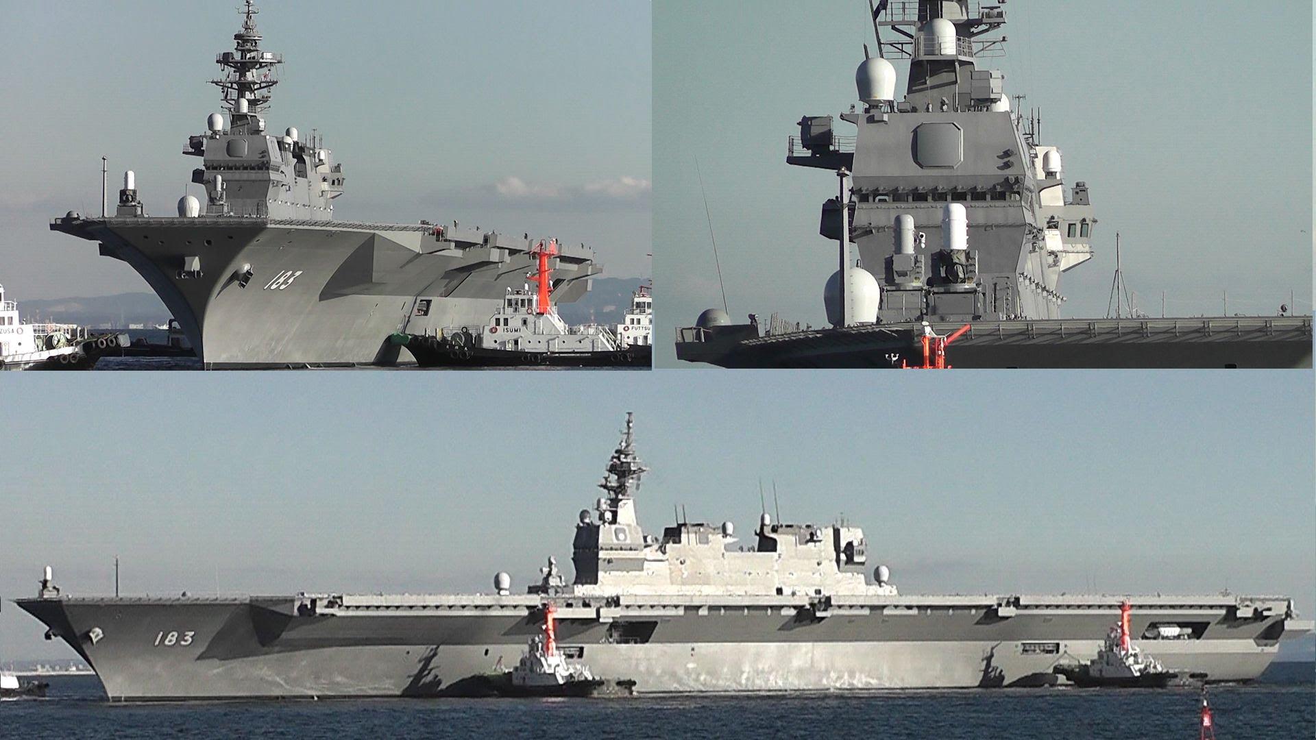 新聞 海上自衛隊最大級護衛艦 出雲號 服役 Terievv板 Disp Bbs