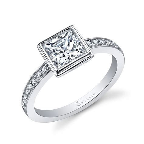 Best 25  Bezel set engagement rings ideas on Pinterest
