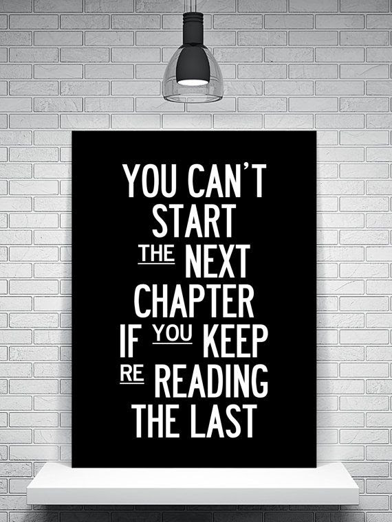 Writing A New Chapter In Your Life
