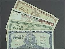 Cuban pesos
