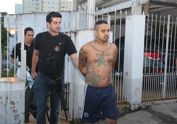 Deivison Correia é preso acusado de ter participado do espancamento do presidente e do secretário da Gaviões da Fiel