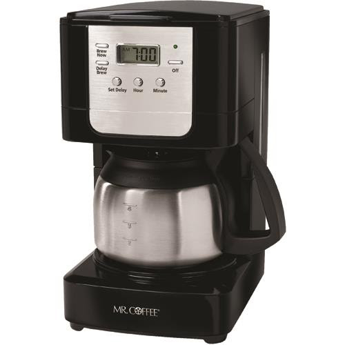 5 Cup Programmable Coffee Maker With Stainless Carafe