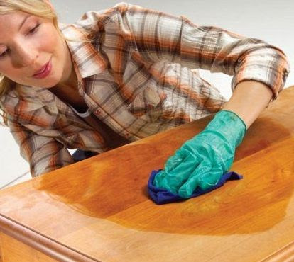 Líquido limpia tapizados: Como limpiar los muebles de madera ...