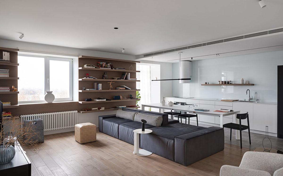 Creative Apartment Interior With Unique Decor Style