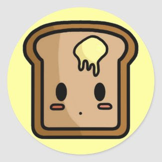 Toasty Stickers sticker