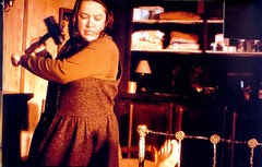 Annie (Kathy Bates) goes in for a swing of the sledgehammer