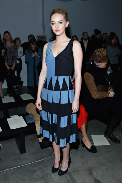 Jess Weixler - Giulietta - Front Row - Mercedes-Benz Fashion Week Fall 2014