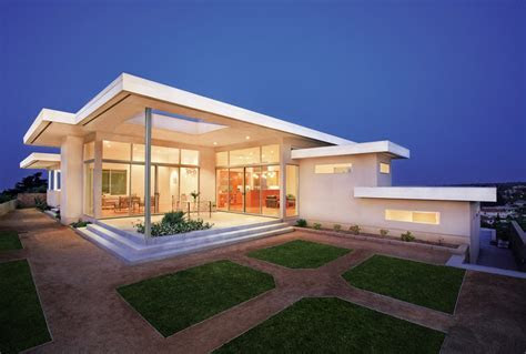 Flat roof patio design ideas exterior modern with recessed lighting steel beams glass wall