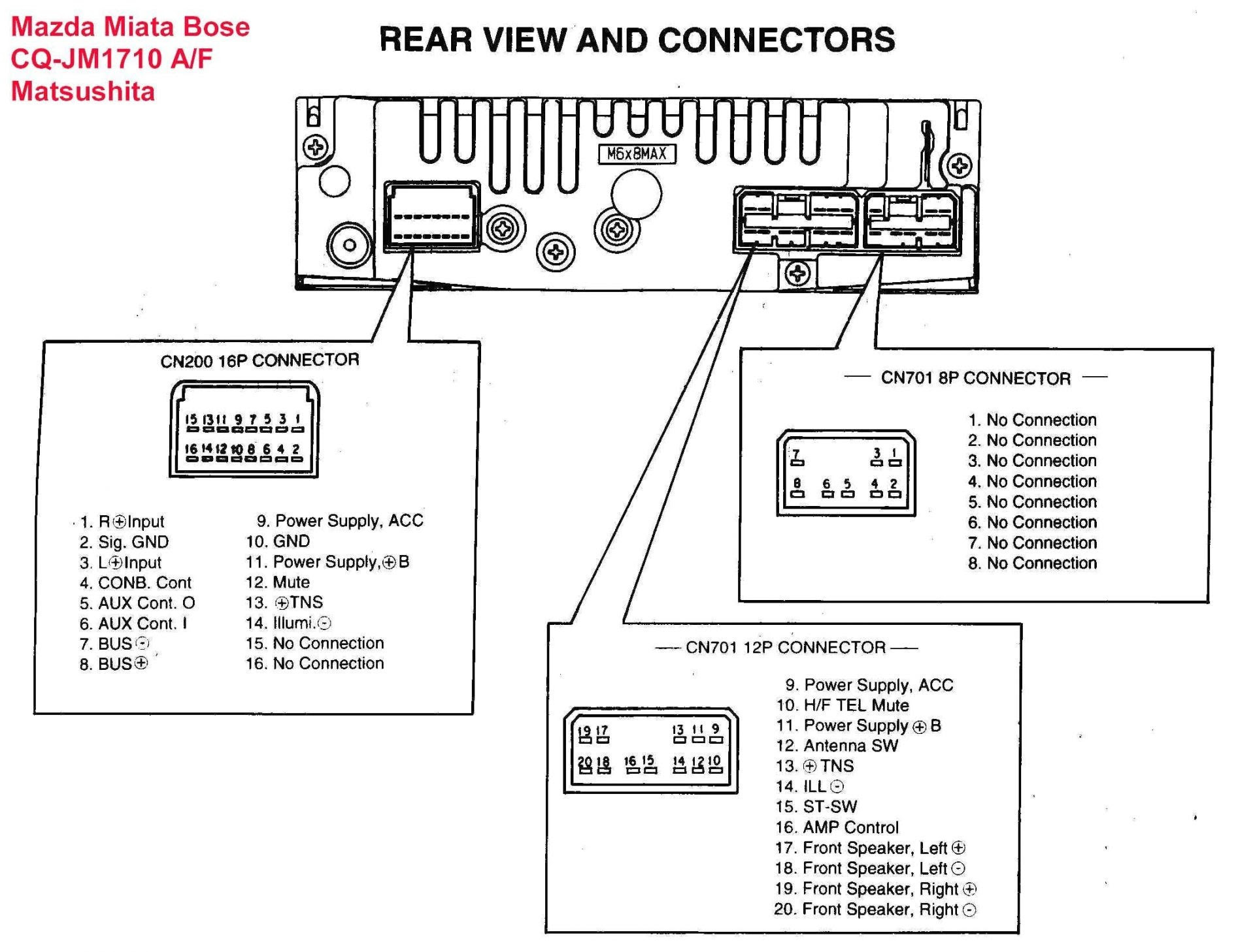 40 Cadillac St Bose Amp Wire Diagram   Cars Wiring Diagram