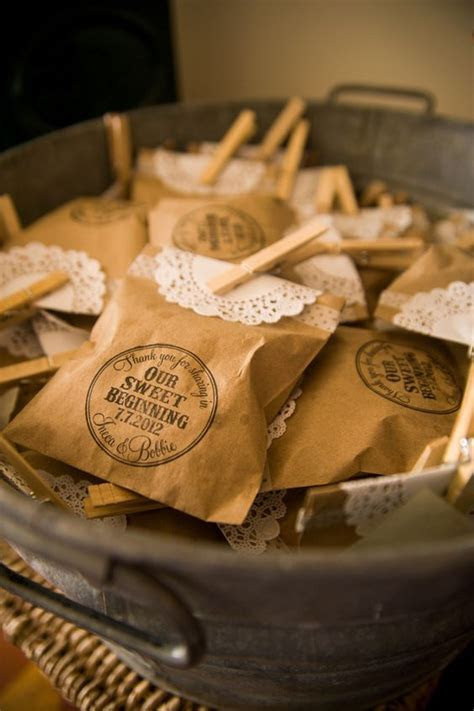 50 Rustic Country Kraft Paper Wedding Ideas   Deer Pearl