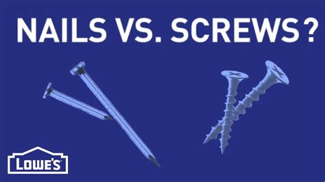Nails Vs Screws - NailsTip