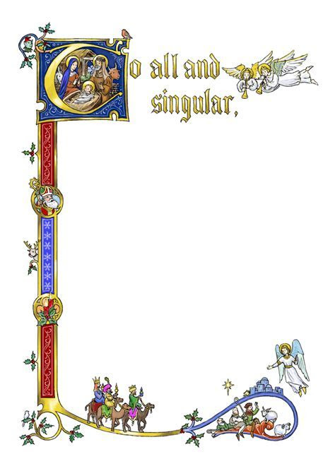 Medieval Borders Clip Art