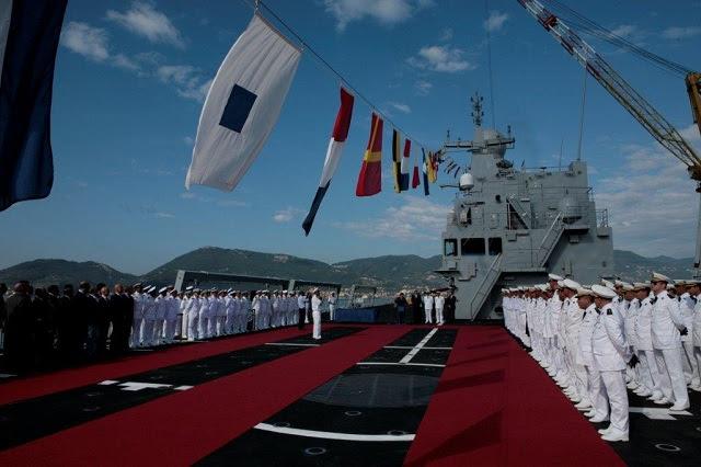 El 4 de septiembre de 2014 a los astilleros Fincantieri Muggiano (en La Spezia) la Marina de Argelia hizo la entrega de la de Kalaat Beni-Abbes BDSL (Batiment de Débarquement et de Soutien Logistique) buque anfibio. El buque fue ordenada en 2011 por el Ministerio de Defensa de la República Democrática Popular de Argelia desde Orizzonte Sistemi Navali, una compañía controlada por Fincantieri en los que Selex ES también tiene una participación, para servir como nuevo buque insignia de la Armada nacional.