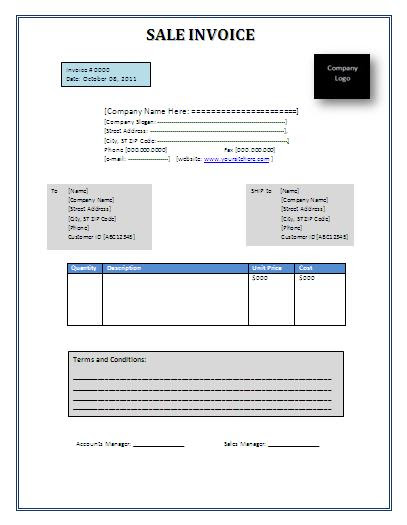 sales invoice template word sales invoice template PuHWFi