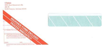 insurance envelopes sshr