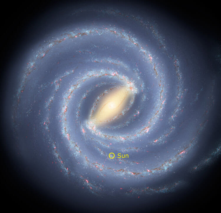 future timeline of the universe galaxy core