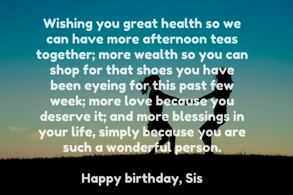 Motivational Birthday Wishing To A Sister Messages Preet Kamal