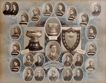 1903 Ottawa Senators Hockey Club Pictures, Images and Photos