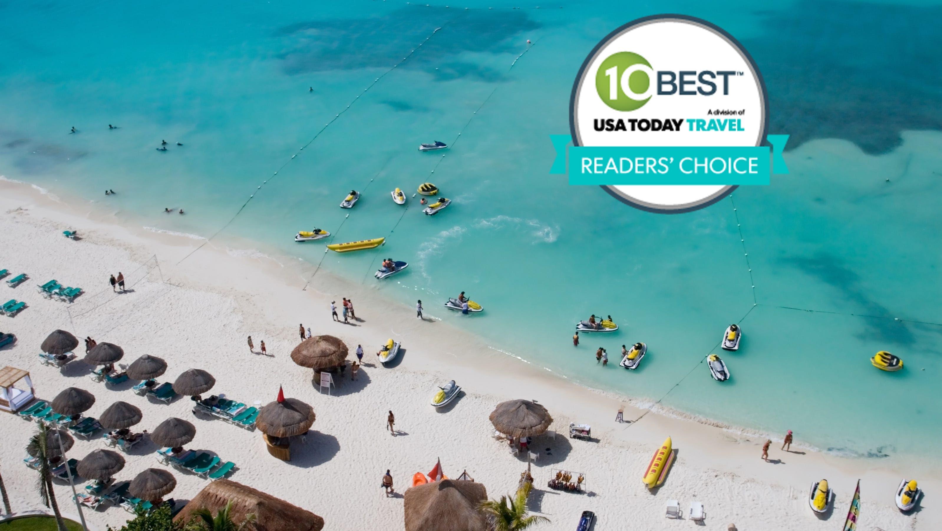 Best spring break destinations Readers Choice winners