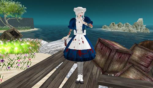 bloody alice dress