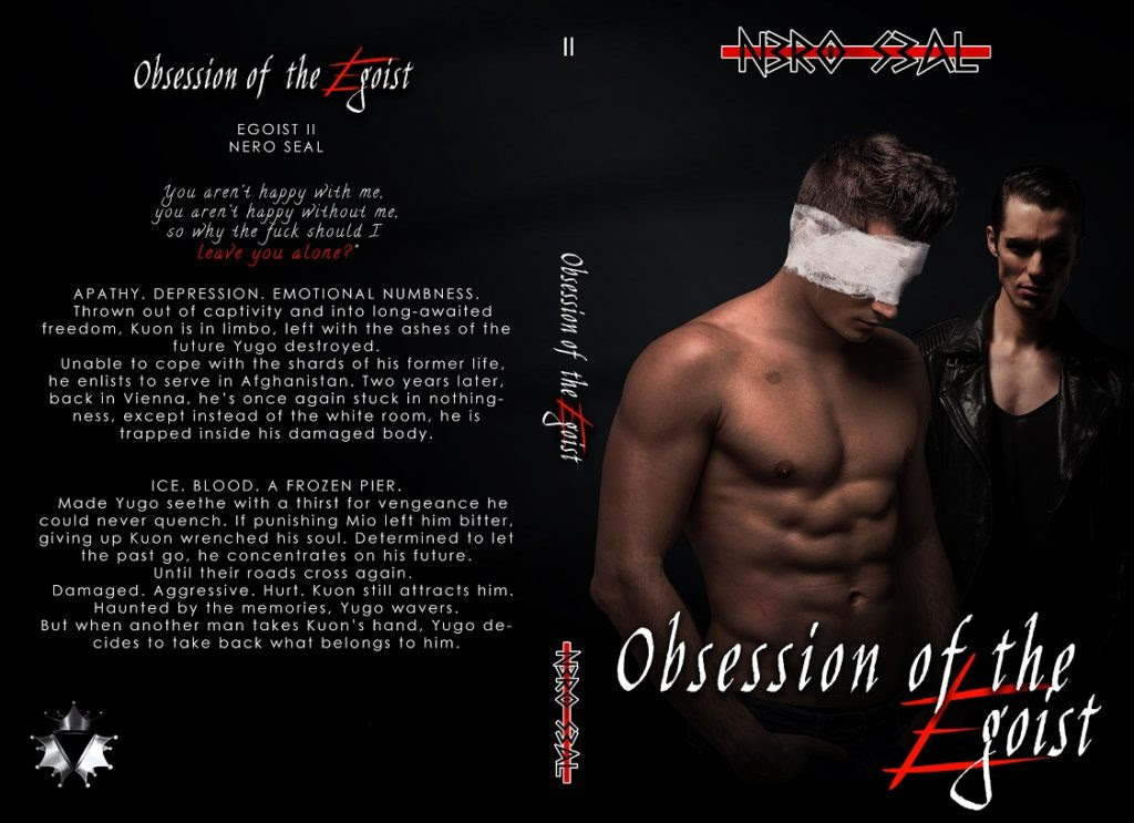 Obsession of the Egoist, paperback cover