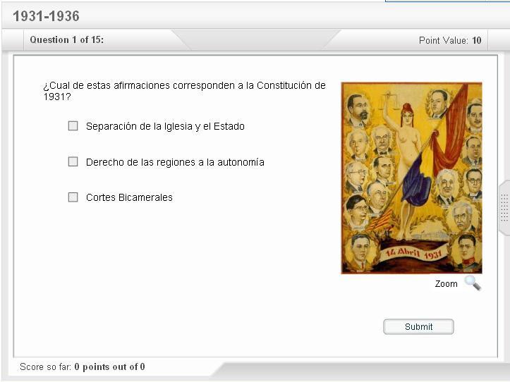 cuestionario interactivo