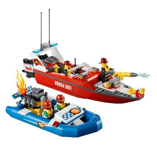Lego City 7207 – Fire Boat Lego City 7213 – Off Road Fire Truck