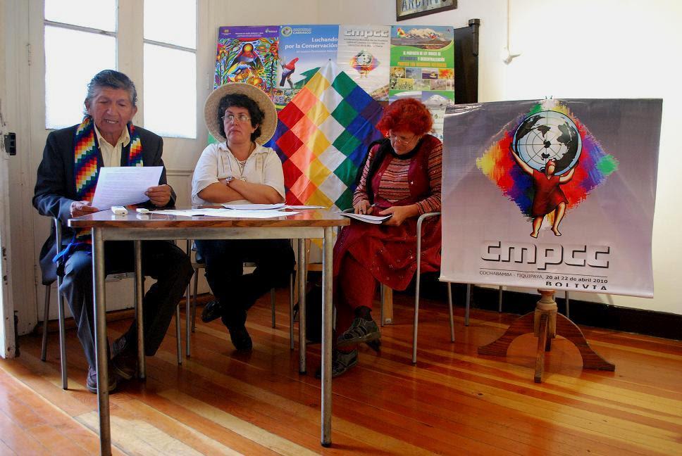 CONFORMAN EN ANTOFAGASTA ASAMBLEA POR LA DEFENSA DE LOS PUEBLOS Y  LA MADRE TIERRA