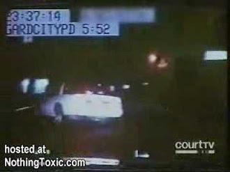 NYPD Ghost car chase / Auto Desaparece Durante Persecución
