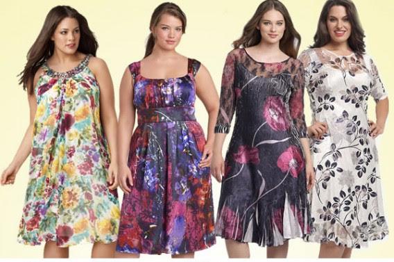 Vestidos florido para gordinhas