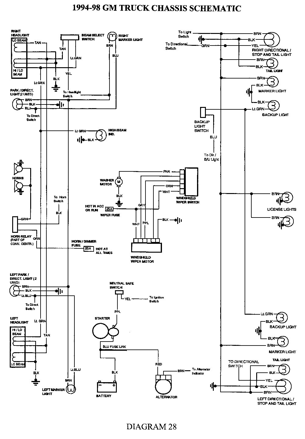 1994 S10 Marker Light Wiring Diagram How To Wire A Basement Diagram 2006cruisers Tukune Jeanjaures37 Fr