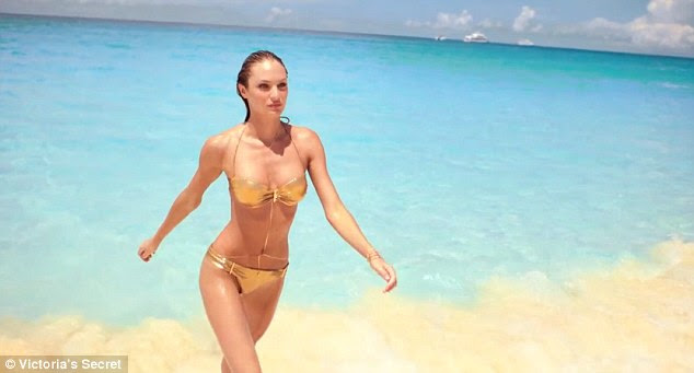 With this performance Candice could join the ranks of Ursula Andress's sexy beach scene from Dr No