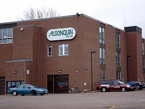 The Pembroke, Ontario campus of Algonquin College