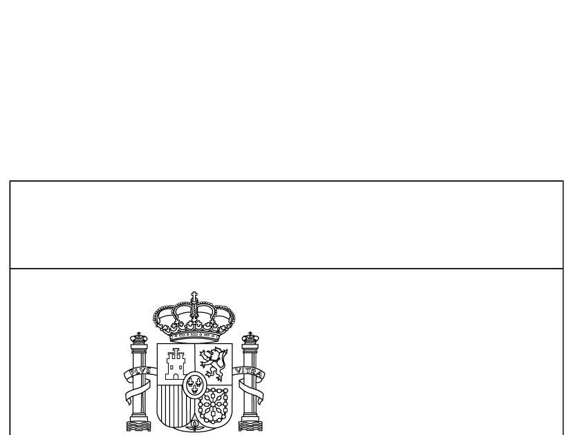 Coloriage204 coloriage drapeau espagne - Coloriage drapeau espagnol ...