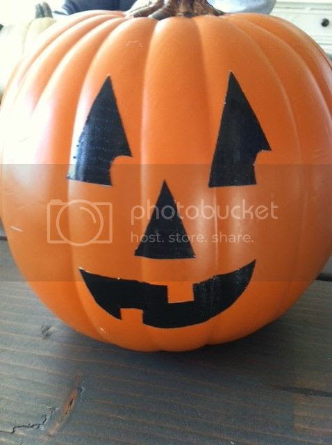 The Shabby Nest Jack O Lantern with Duck Tape Face photo photo3-Copy.jpg