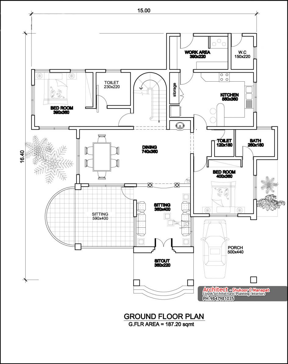 Awesome Kerala House Design With Floor Plans Ideas House Generation