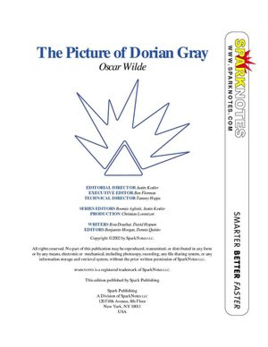 pata: picture of dorian gray sparknotes