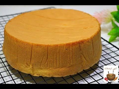 أسهل طريقة لعمل الكيك الاسفنجي الهش والقطني ب4 بيضات فقط مع اسرار نجاح الكيك