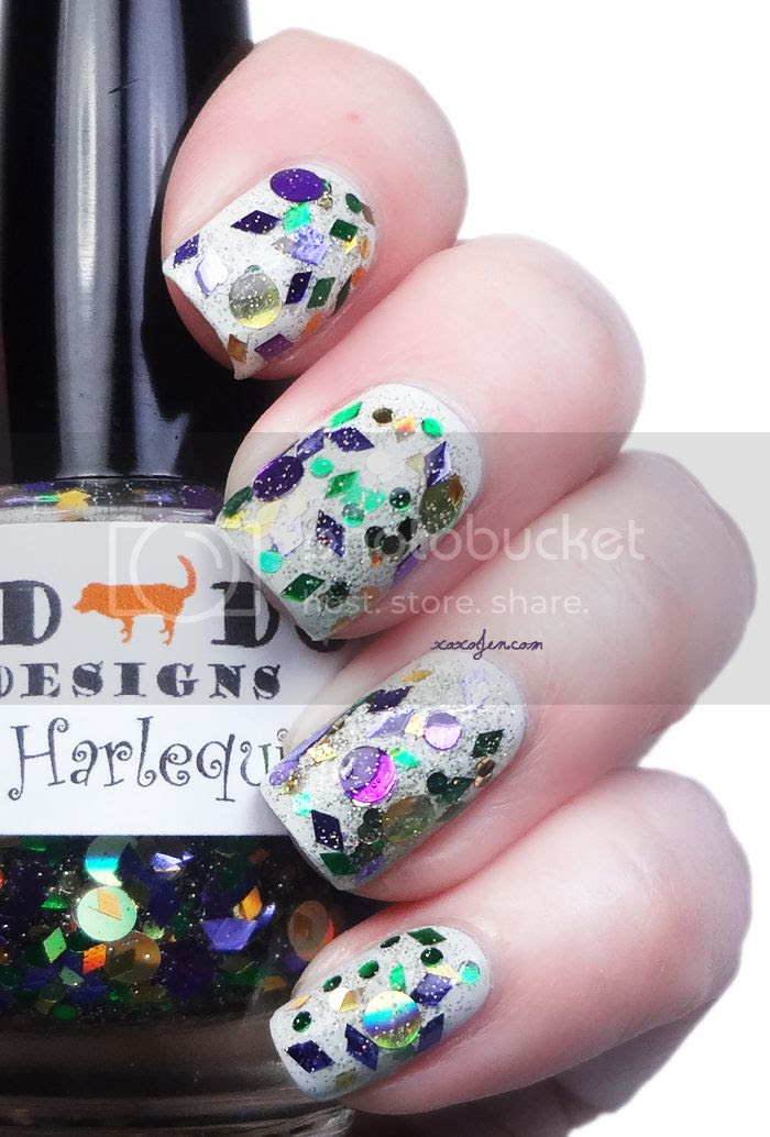 xoxoJen's swatch of Red Dog Design's Harlequin Ball