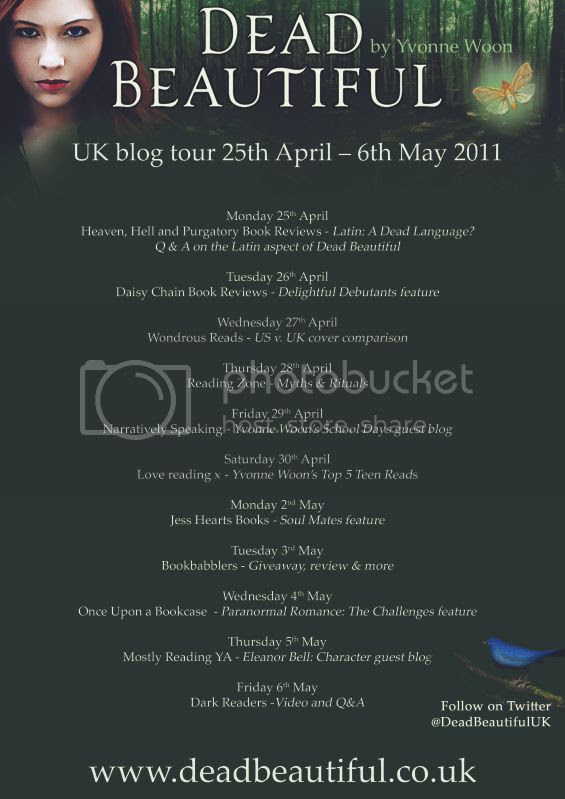 dead beautiful blog tour