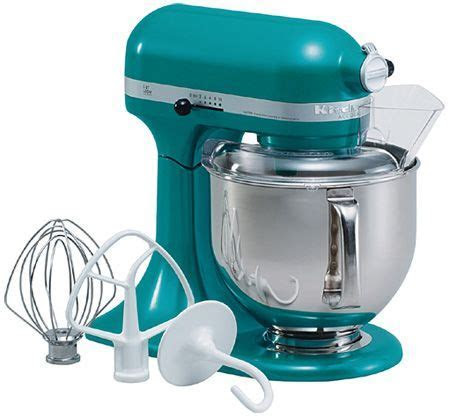 my teal kitchen aid mixer the best wedding gift i