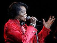 The Godfather of Soul, James Brown.
