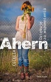 """""""Dziękuję za wspomnienia"""", Cecelia Ahern"""