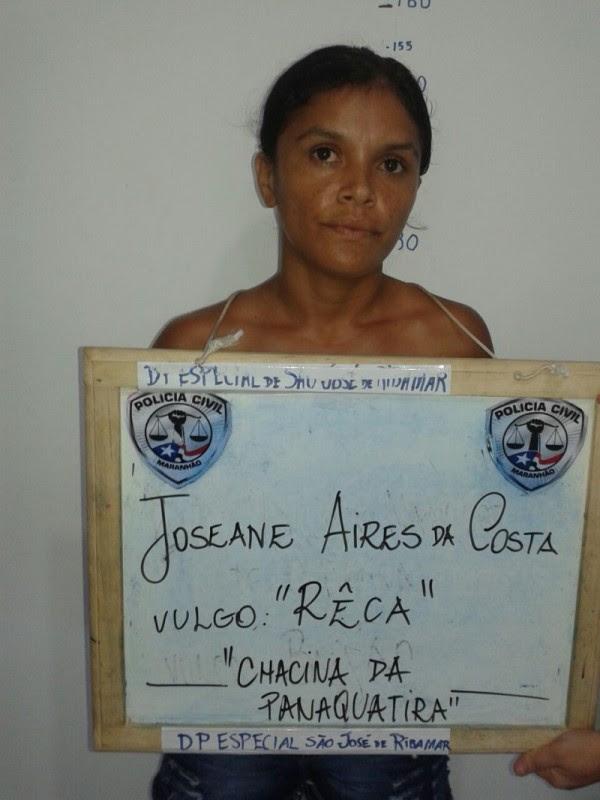 Joseane Aires da Costa, de 26 anos